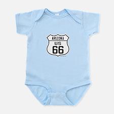 US Route 66 Arizona Infant Bodysuit