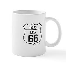 US Route 66 Texas Mug