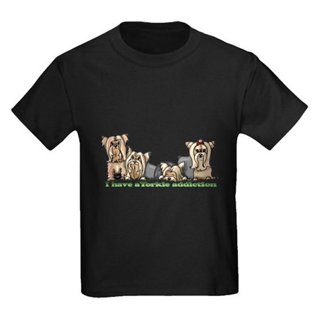 Fofa's friends Kids Dark T-Shirt