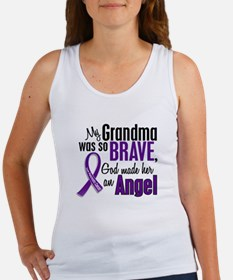 Angel 1 Pancreatic Cancer Women's Tank Top