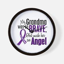 Angel 1 Pancreatic Cancer Wall Clock