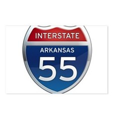 Interstate 55 Postcards (Package of 8)