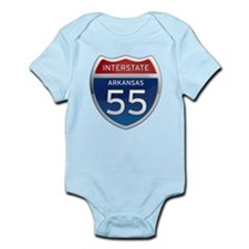 Interstate 55 Infant Bodysuit