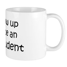 Grow Up English Student Mug