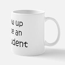 Grow Up English Student Mug