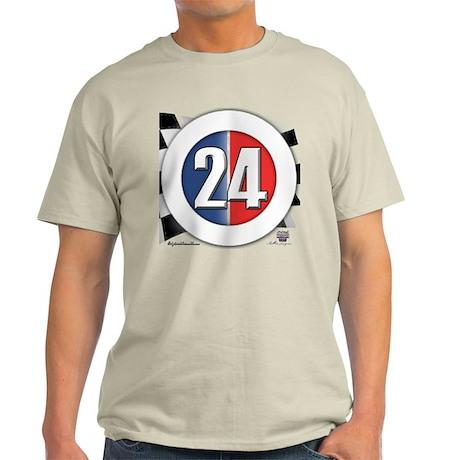 24 Cars Logo Light T-Shirt