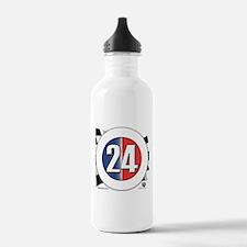 24 Cars Logo Water Bottle