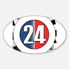 24 Cars Logo Decal