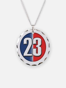 23 Cars Logo Necklace