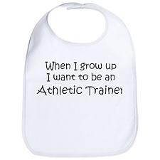Grow Up Athletic Trainer Bib