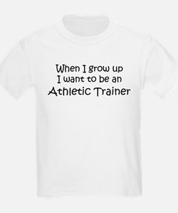 Grow Up Athletic Trainer Kids T-Shirt