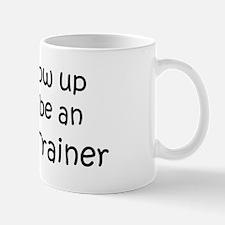 Grow Up Athletic Trainer Small Small Mug