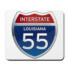 Interstate 55 Mousepad