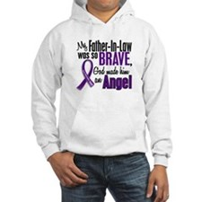 Angel 1 Pancreatic Cancer Hoodie