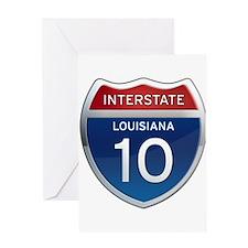 Interstate 10 Greeting Card