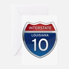 Interstate 10 Greeting Card
