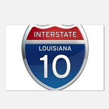 Interstate 10 Postcards (Package of 8)