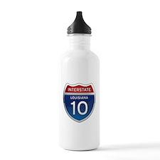 Interstate 10 Sports Water Bottle
