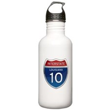 Interstate 10 Water Bottle