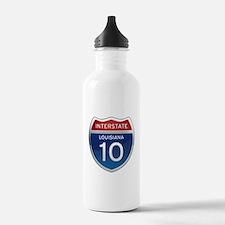 Interstate 10 Water Bottle