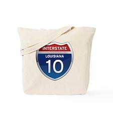 Interstate 10 Tote Bag