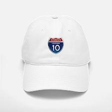 Interstate 10 Baseball Baseball Cap