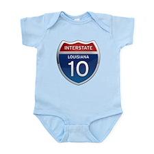 Interstate 10 Infant Bodysuit