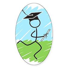 Graduate Runner Grass Decal