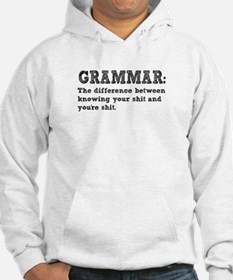 Know Your Grammar Hoodie