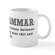 Know Your Grammar Small Mug
