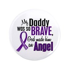 "Angel 1 Pancreatic Cancer 3.5"" Button"