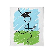 Graduate Runner Grass Throw Blanket