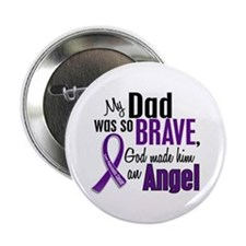 "Angel 1 Pancreatic Cancer 2.25"" Button"