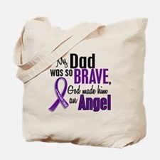 Angel 1 Pancreatic Cancer Tote Bag