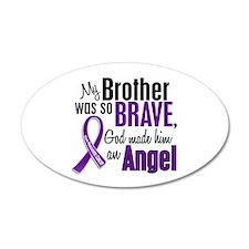 Angel 1 Pancreatic Cancer 22x14 Oval Wall Peel