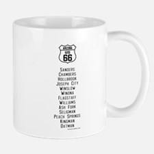 US Route 66 Arizona Cities Mug
