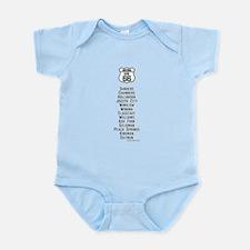 US Route 66 Arizona Cities Infant Bodysuit