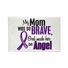 Angel 1 Pancreatic Cancer Rectangle Magnet
