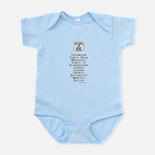 US Route 66 New Mexico Cities Infant Bodysuit