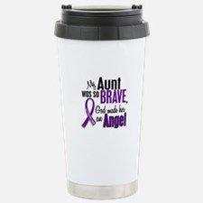 Angel 1 Pancreatic Cancer Travel Mug