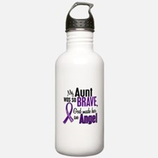 Angel 1 Pancreatic Cancer Sports Water Bottle