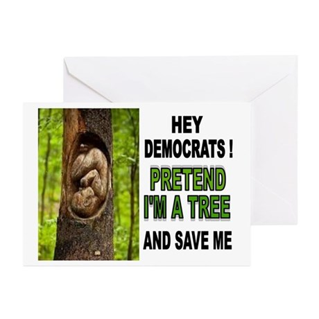 SAVE A BABY Greeting Cards (Pk of 10)