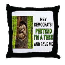 SAVE A BABY Throw Pillow