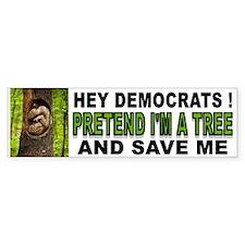 SAVE A BABY Bumper Sticker