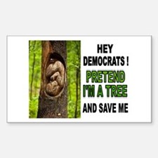 SAVE A BABY Bumper Stickers