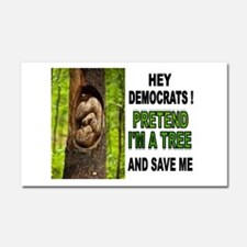 SAVE A BABY Car Magnet 20 x 12