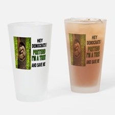 SAVE A BABY Drinking Glass