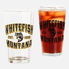 Whitefish Goldfish Drinking Glass