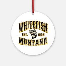 Whitefish Goldfish Ornament (Round)