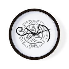 Cute Celtic knot Wall Clock